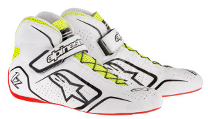 215 White Black Yellow Fluo