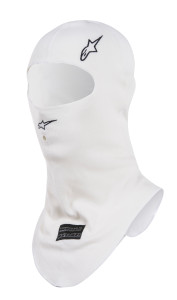 RACE BALACLAVA 20 WHITE