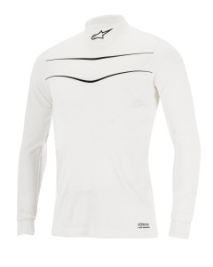 RACE TOP 21 WHITE BLACK