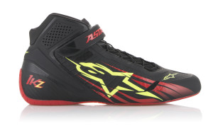 2713018_136_TECH-1KZ-shoe_BlackRedYellowfluo_ROT2