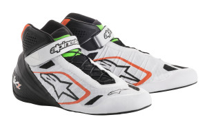 2146 WHITE BLACK ORANGE FLUO GREEN FLUO